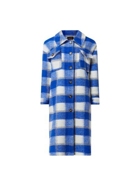 Płaszcz wełniany - niebieski Miss Goodlife