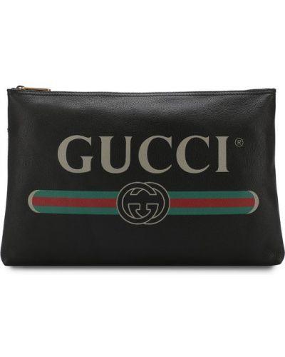 Черная папка Gucci