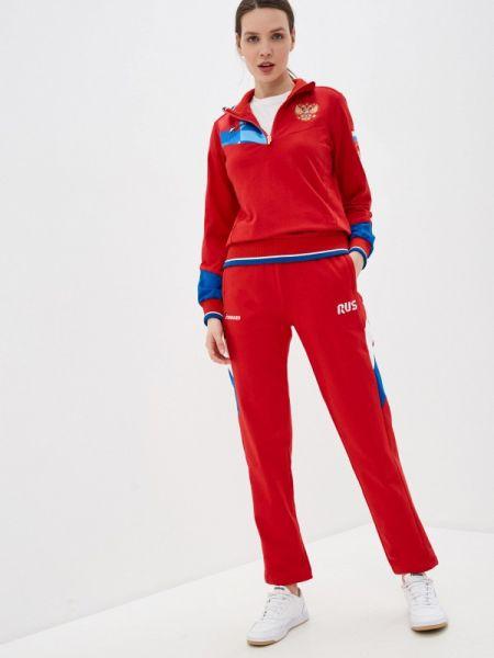 Красный спортивный костюм Forward