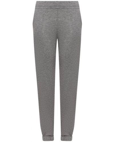 Кашемировые серые брюки Ftc
