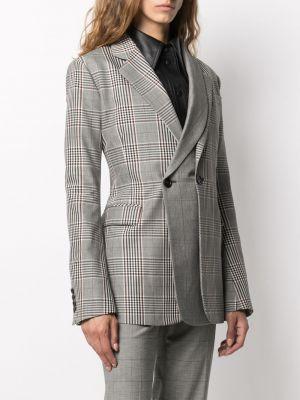 Шерстяной деловой черный пиджак на пуговицах Monse