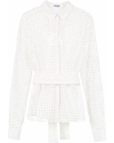 Классическая рубашка белая без воротника Tufi Duek