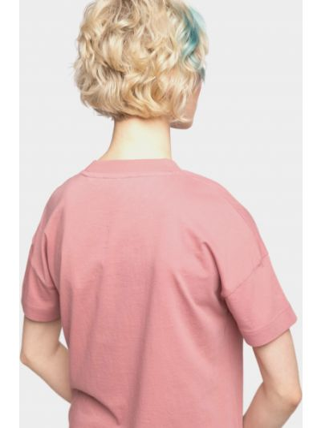 Розовая футболка Napapijri