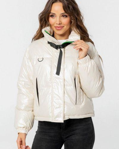 Утепленная куртка - белая Whitefox