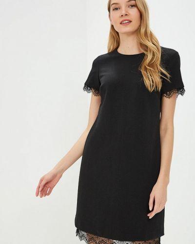 Платье - черное Banana Republic