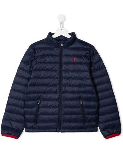 Пуховик с карманами с логотипом Ralph Lauren Kids