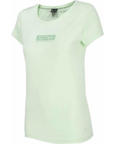 Bawełna zielony bawełna t-shirt 4f