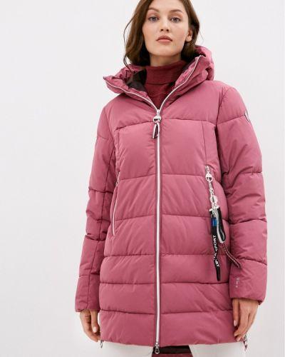 Теплая розовая зимняя куртка Luhta
