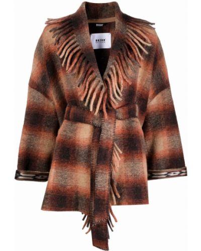 Куртка с бахромой - коричневая Bazar Deluxe