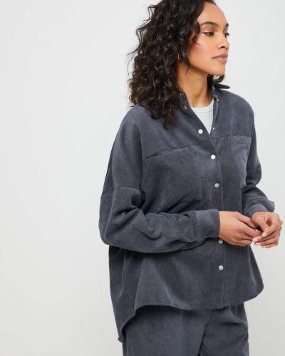 Рубашка с длинным рукавом - серая Sela