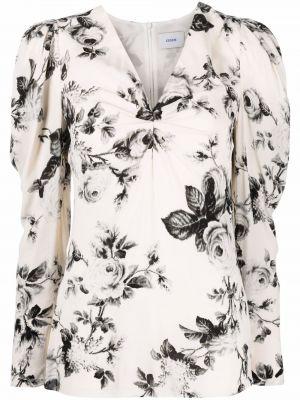 Шелковая блузка - белая Erdem