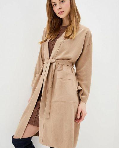 Пальто бежевое летнее Lorani