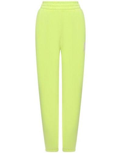 Зеленые хлопковые брюки Alexanderwang.t
