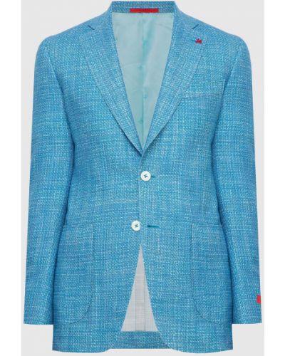Шелковый пиджак Isaia