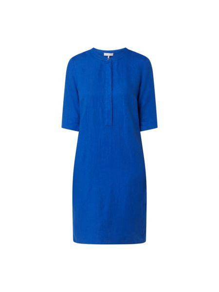 Sukienka rozkloszowana - niebieska Cinque