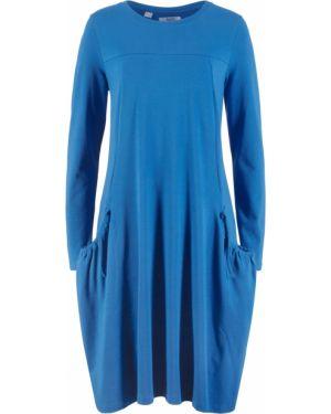 Платье оверсайз с длинными рукавами Bonprix