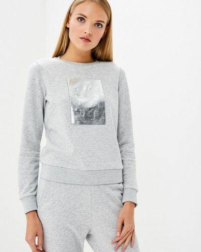 Серый свитшот Armani Exchange