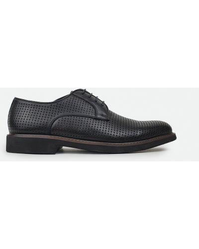 Туфли с перфорацией - черные Cosottinni