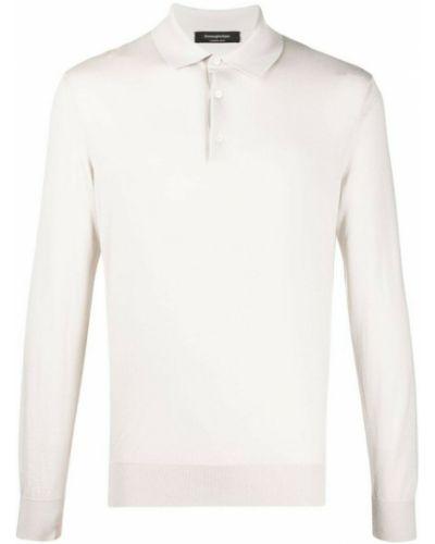 Biała koszulka Ermenegildo Zegna