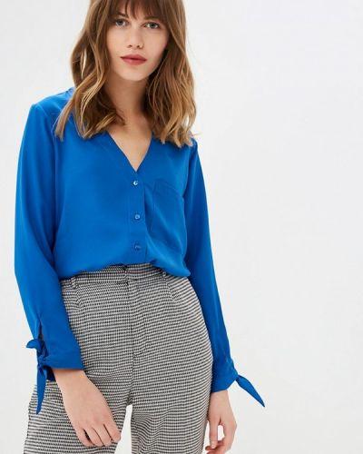 Блузка с длинным рукавом синяя Jennyfer