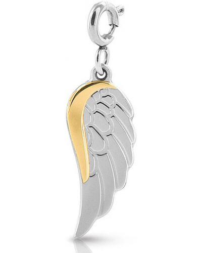 Серебряная золотая подвеска Nomination