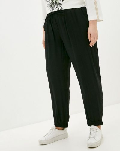 Зауженные черные брюки Intikoma