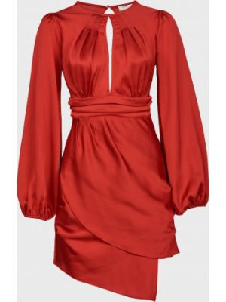 Красное платье на молнии Finders Keepers