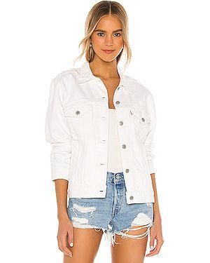 Хлопковая джинсовая куртка с манжетами на пуговицах с карманами Levi's®