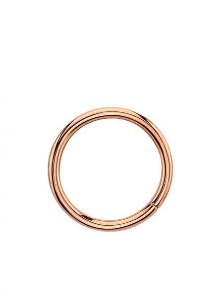 Prążkowany złoty pierścionek Bvla