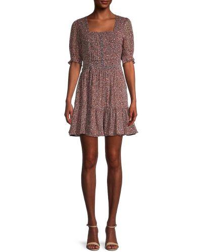 Расклешенное свободное шифоновое купальное платье Walter Baker