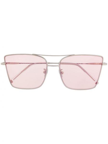 Солнцезащитные очки металлические - розовые Retrosuperfuture