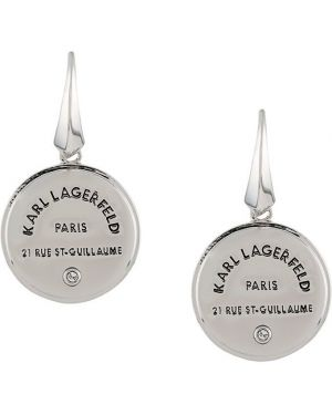 Серьги набор круглые Karl Lagerfeld