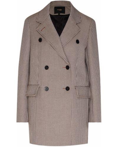Пальто бежевое пальто-халат Maje