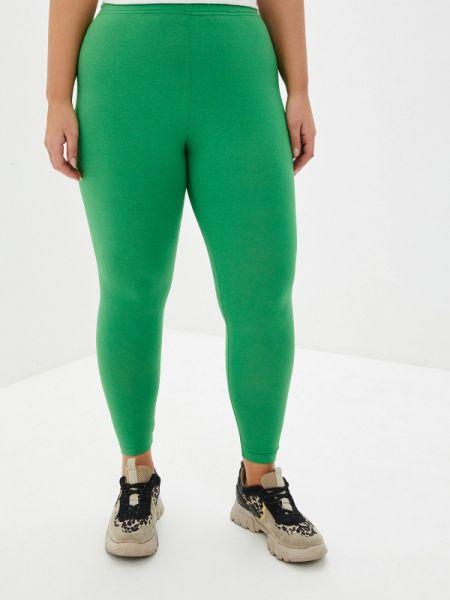 Леггинсы - зеленые Lessismore