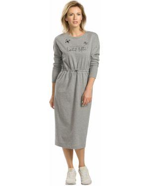 Платье миди на резинке платье-сарафан Pelican