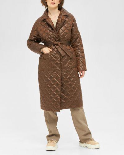Стеганое пальто с воротником свободного кроя Mila Nova