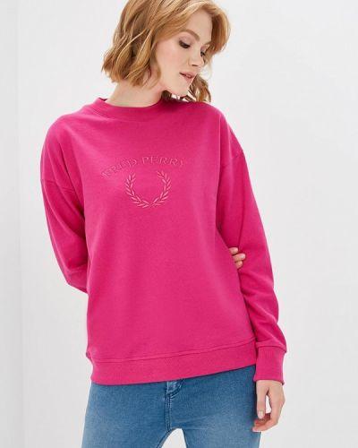 Розовый свитшот Fred Perry