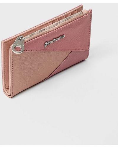 Розовый кошелек Stradivarius