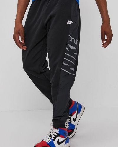 Czarne spodnie bawełniane Nike Sportswear