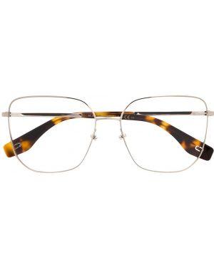 Серебряные очки металлические Marc Jacobs Eyewear