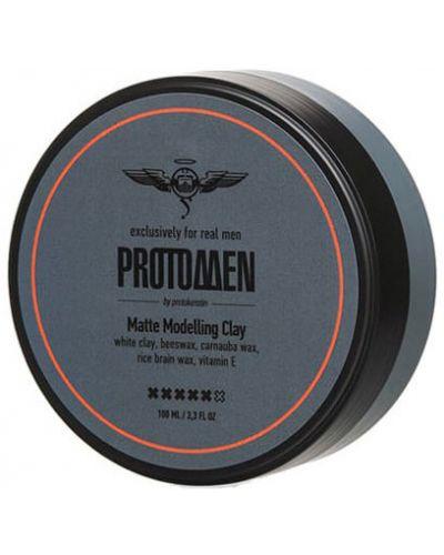 Гель для укладки волос матовый Protokeratin