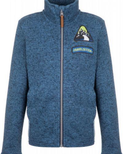 Флисовый синий джемпер на молнии Outventure