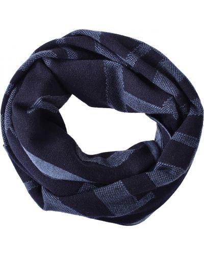 Шарф черный Armani Jeans