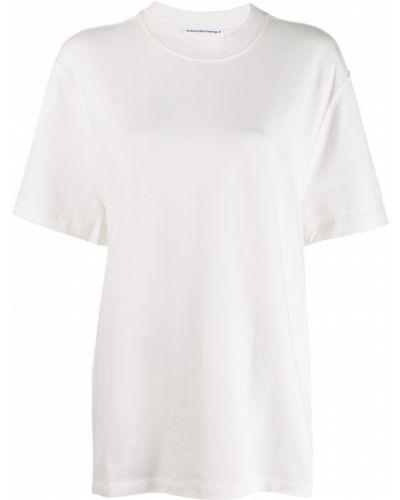 Рубашка белая T By Alexander Wang