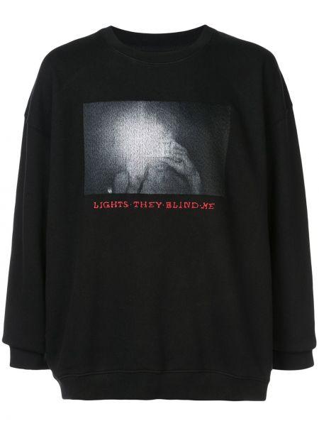 Czarna bluza bawełniana Adaptation