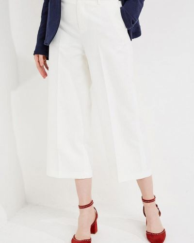Белые укороченные брюки Liu Jo Jeans