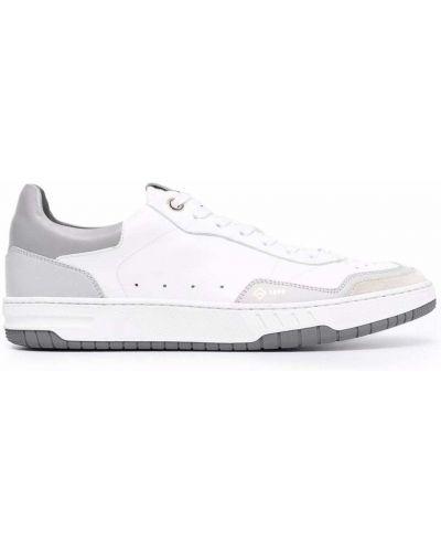 Białe sneakersy koronkowe Dunhill