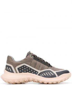 Массивные кроссовки на каблуке на шнуровке Camper