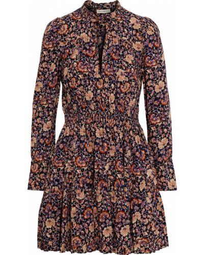 Sukienka mini zapinane na guziki bawełniana Ulla Johnson