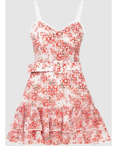 Красное платье мини Charo Ruiz